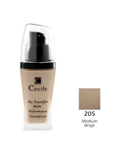 Cecile No Transfer Matte Perf. Foundation  205 Ten